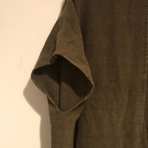 Mango Sweaters - Army green sweater